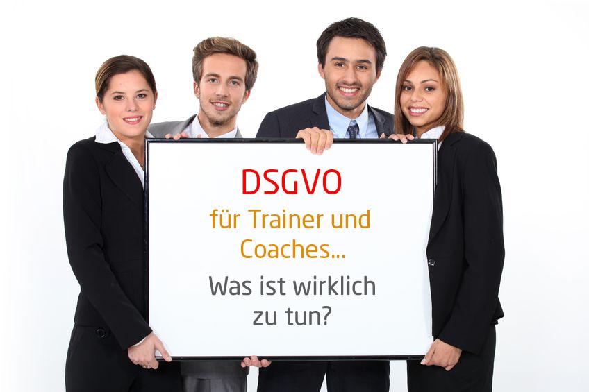 Datenschutz DSGVO